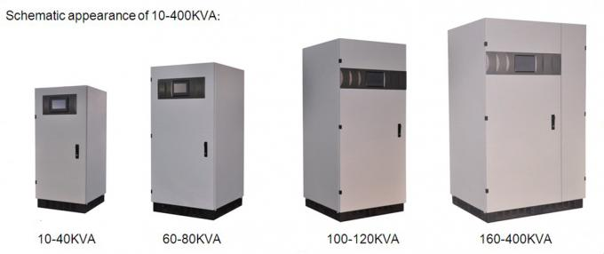 Low Frequency 3 Phase Online UPS 10KVA - 400KVA With RS232