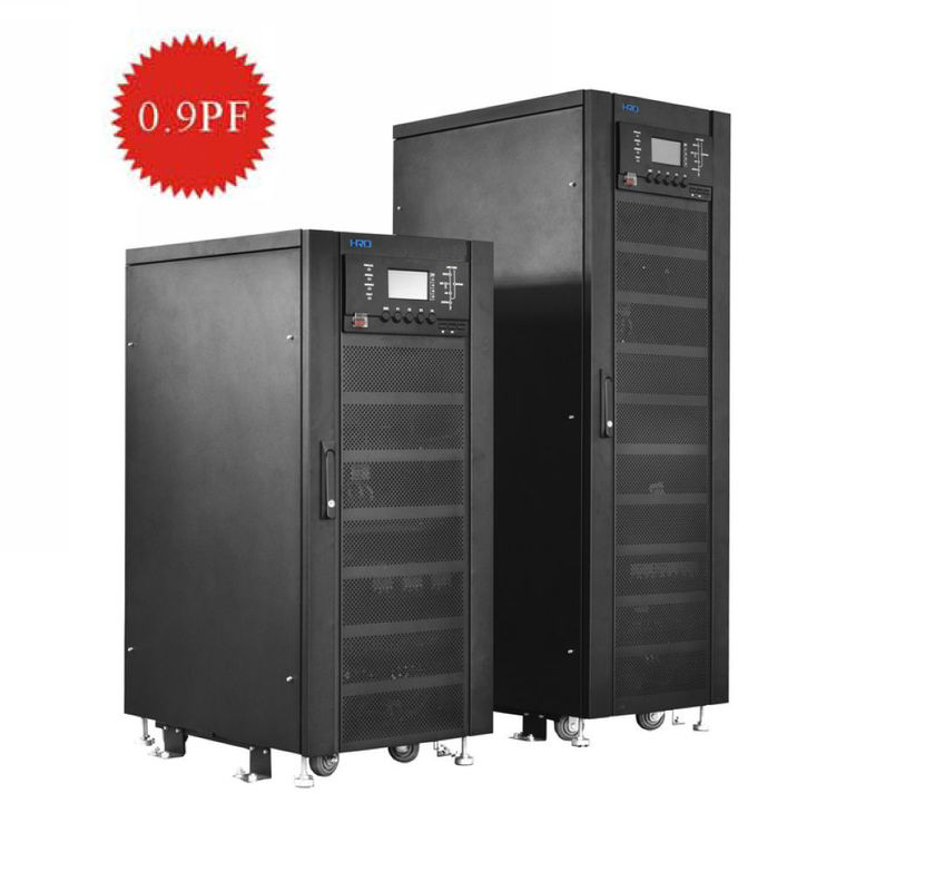 3 Phase Online High Frequency UPS With IGBT Rectifier 208Vac For Bank